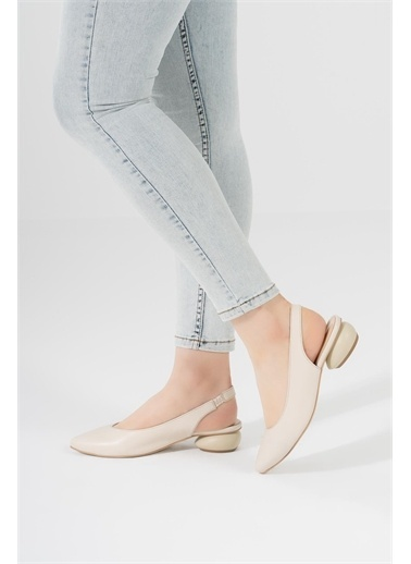 CZ London Sandalet Bej
